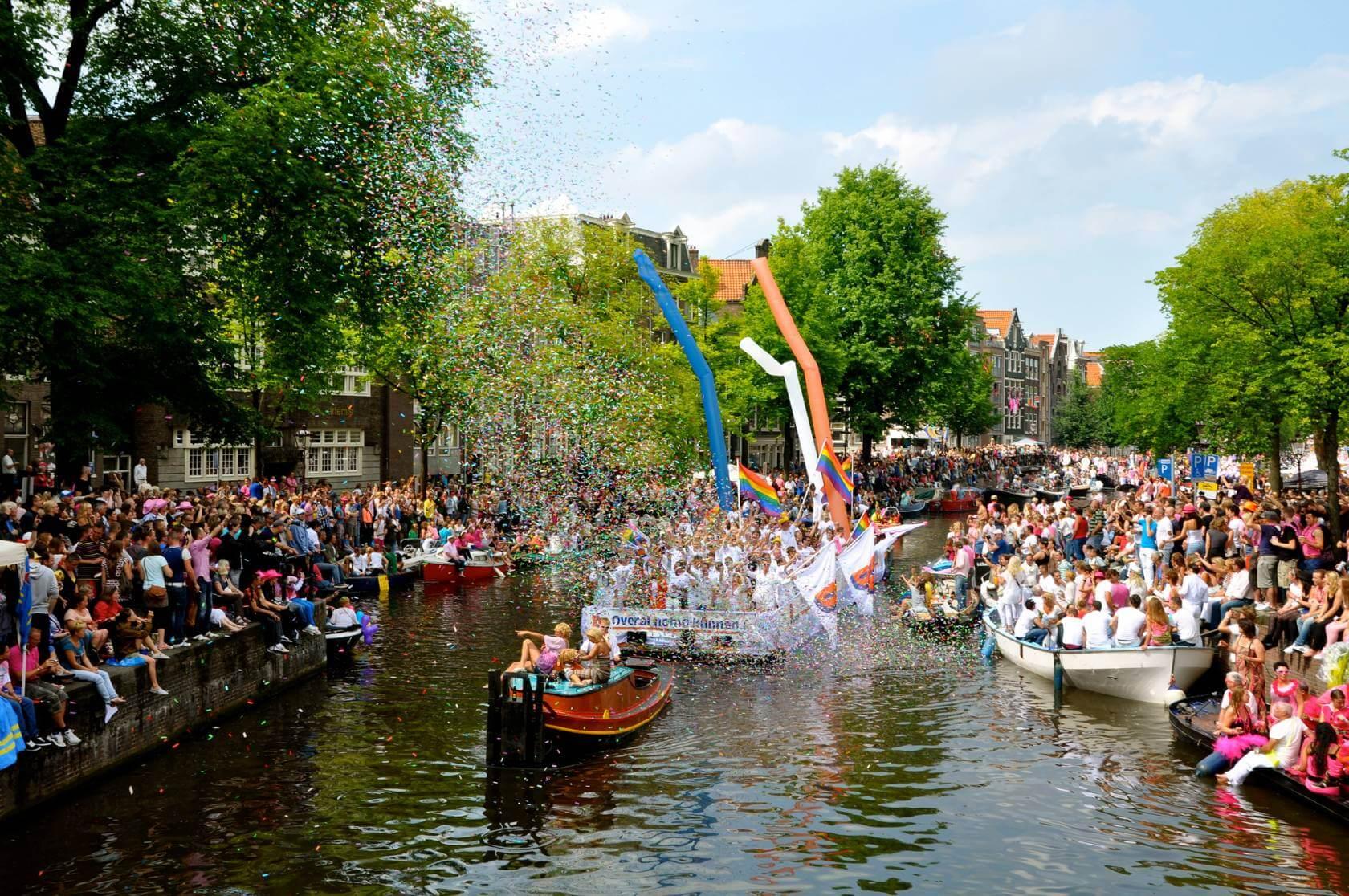 orgullo gay en Amsterdam