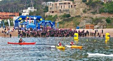 Más de 600 nadadores han disfrutado de la II Marnaton eDreams Begur