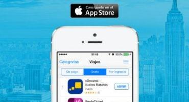 La app de eDreams, número 1 en la sección de viajes de Apple Store