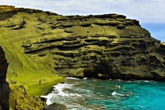 papakolea hawai destacado