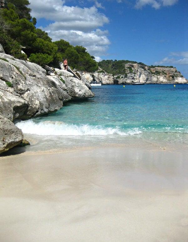 playa blanca macarella menorca