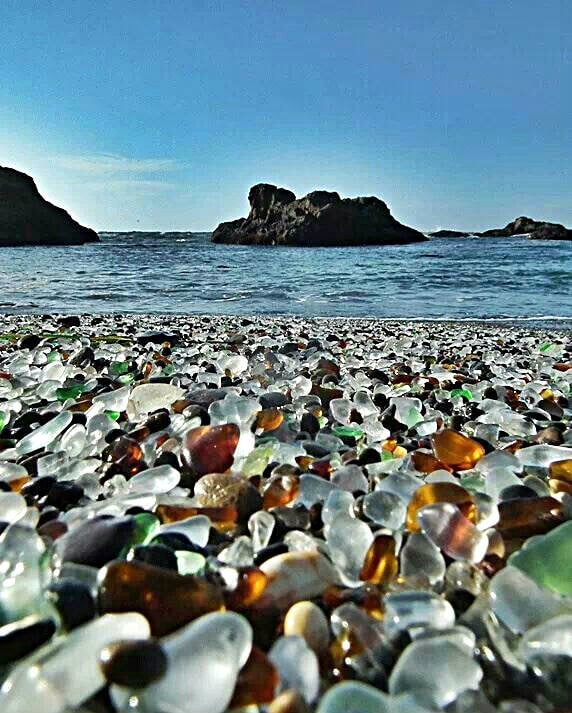 playa glass beach california