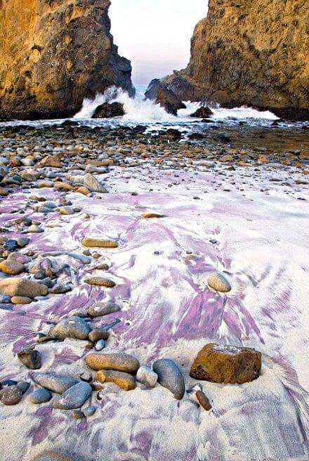 playa morada pfeiffer beach