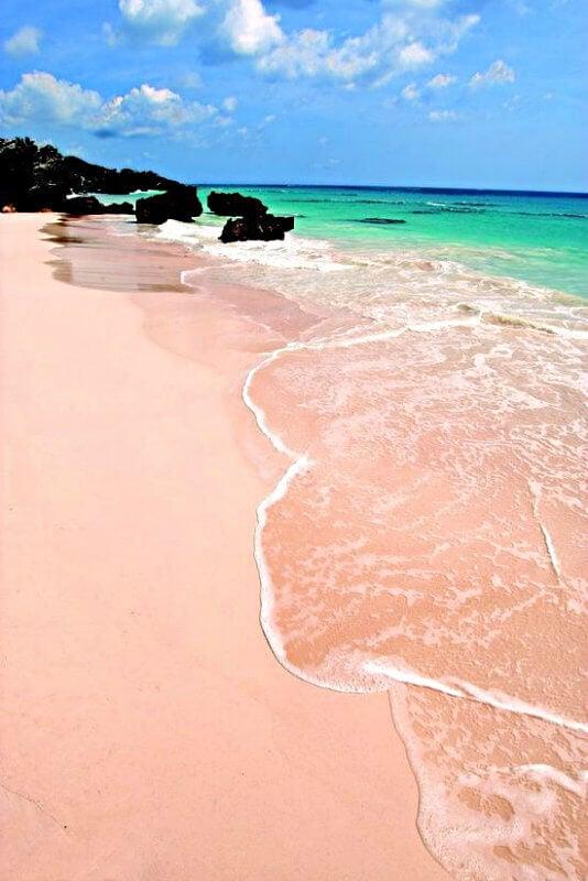 playa rosa bermuda bahamas