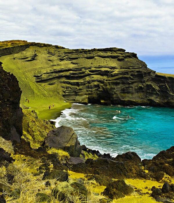 playa verde papakolea hawai