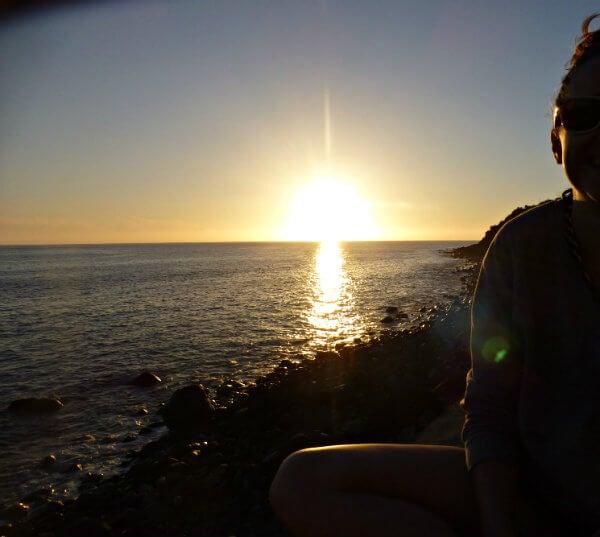 puesta de sol paul do mar