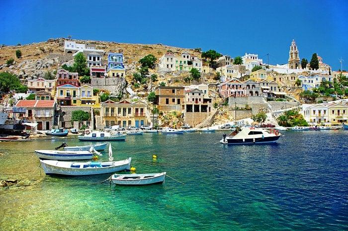 Isla de rodas en grecia