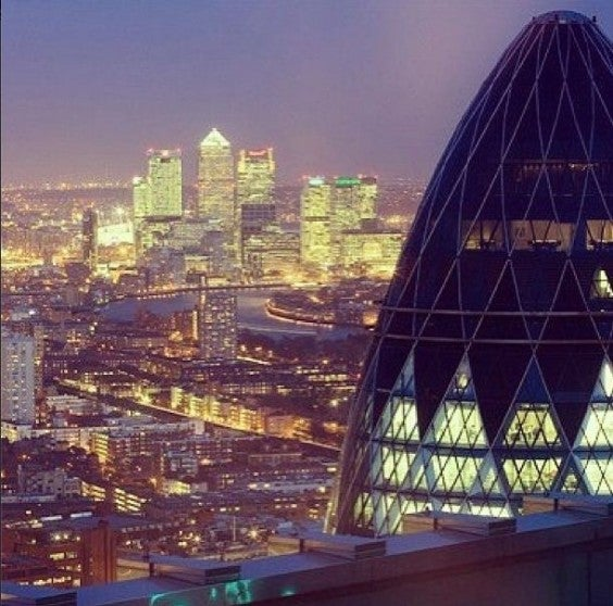 25 cosas que hacer en Londres. Roof top bars