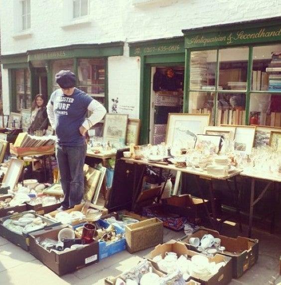 25 cosas que hacer en Londres. Visitar Mercados