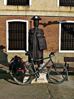 camino santiago bici peregrino