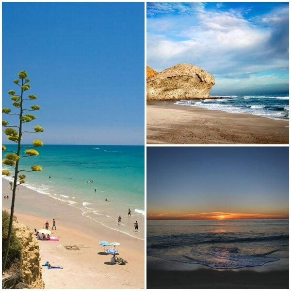 playas andalucia Collage