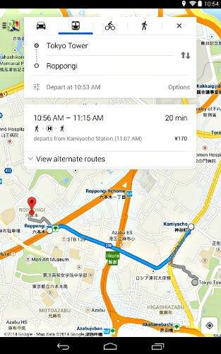 google maps app movil
