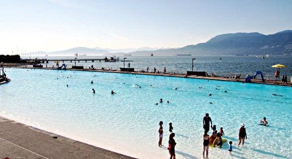 piscina Kitsilano Beach Vancouver