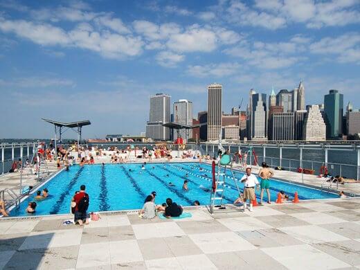 piscina urbana bronx