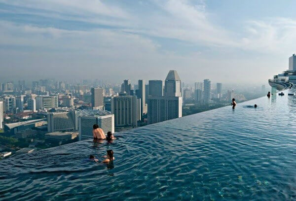 marina bay sands pool singapore