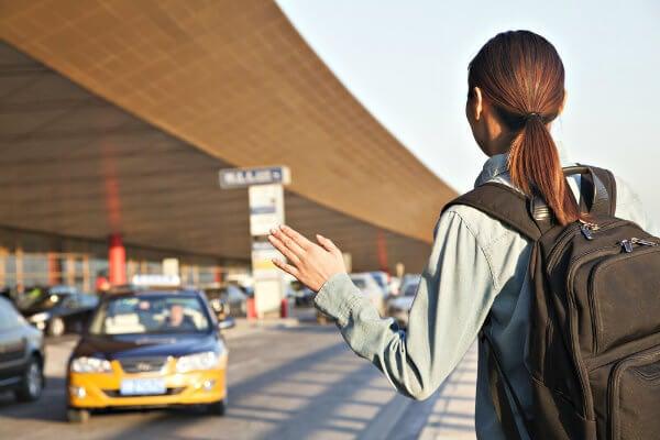 taxi en aeropuerto