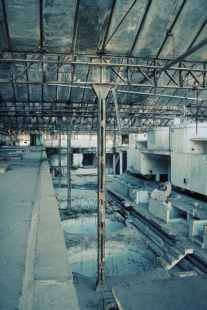 fábrica abandonada Milão