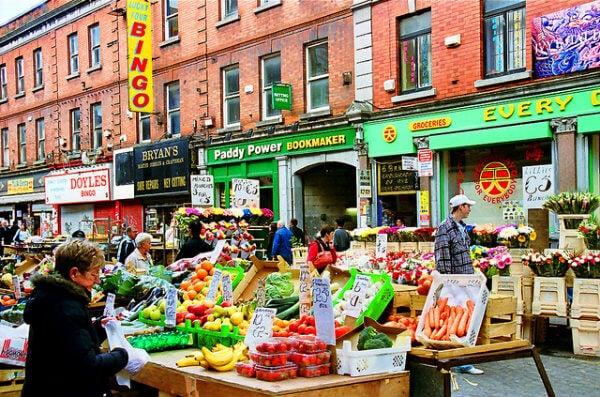Moore Street Market - Dublin