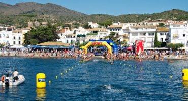 Más de 1.000 nadadores despiden la VII Marnaton eDreams Cadaqués