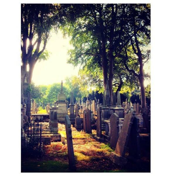 Glasnevin Cemetery in Dublin