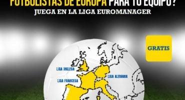 Ficha a las estrellas del fútbol con Liga Euromanager: el juego de Mundo Deportivo y eDreams