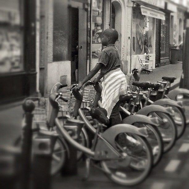 parigi bicicletta velib
