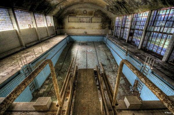 piscina abandonada Berlim