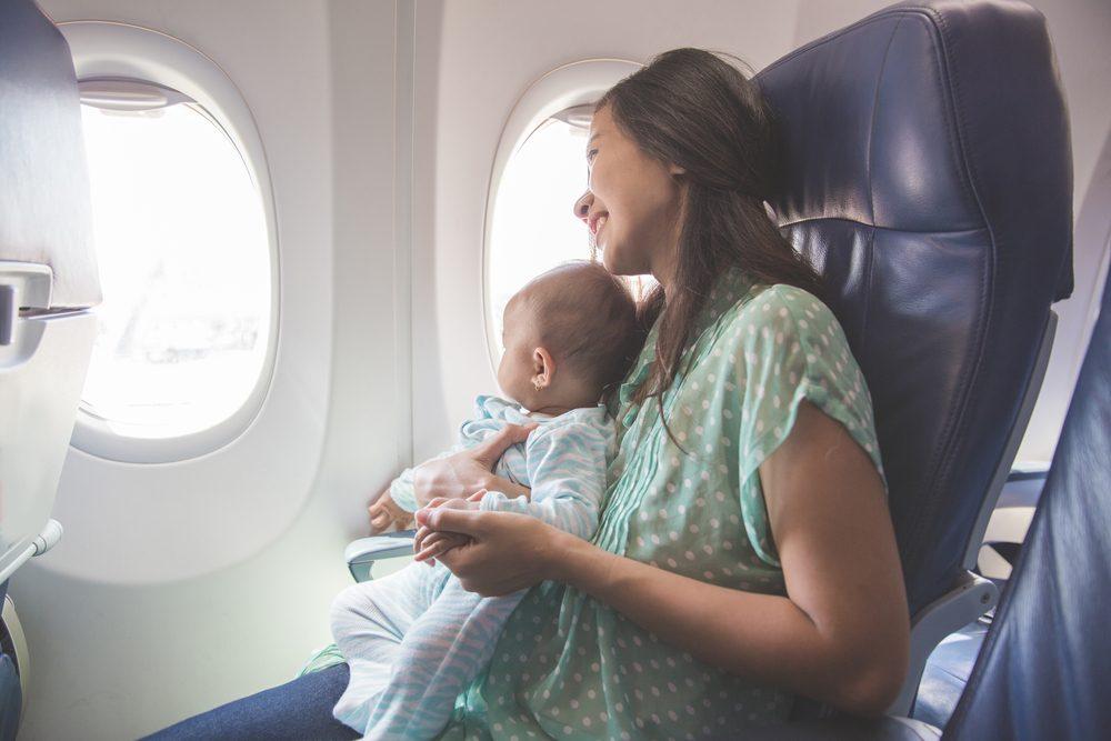 Volar con bebés, Ryanair
