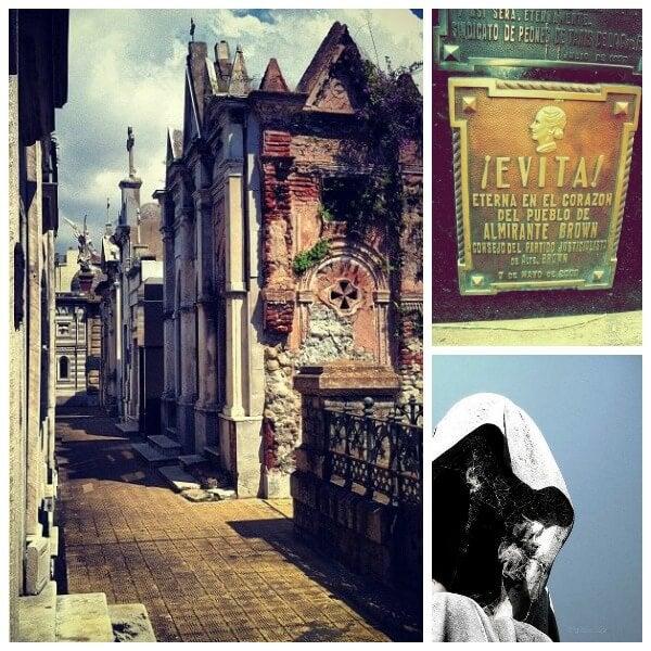 recoleta cementerio Collage