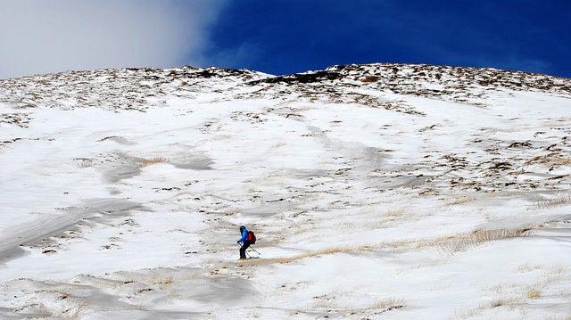 etna cubierto de nieve