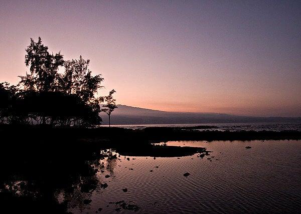 hawai al anochecer