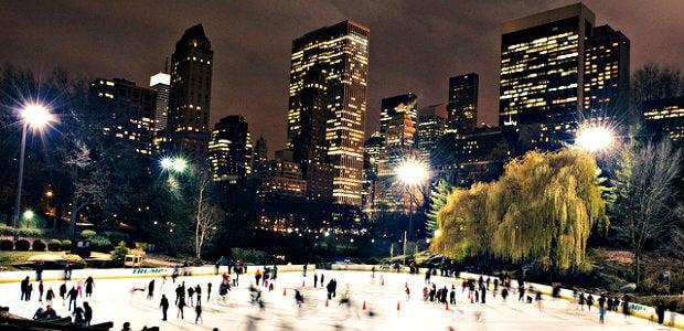 pista hielo nueva york