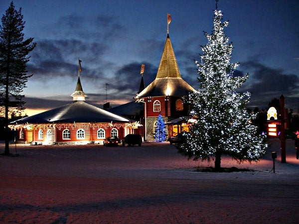 laponia Rovaniemi ciudad de Papa noel