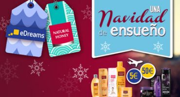 ¿Preparad@ para una Navidad única con eDreams y Natural Honey?