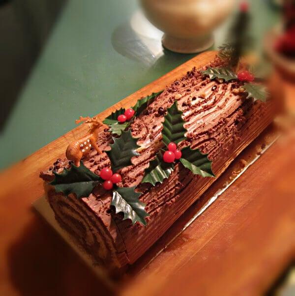 Recetas de Navidad de Francia: Tronco de Navidad