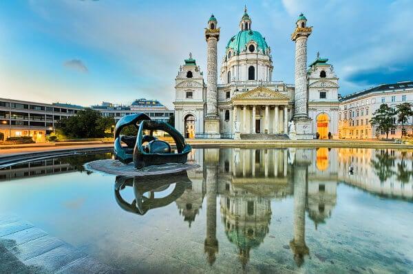catedral de Sant Charles en Viena