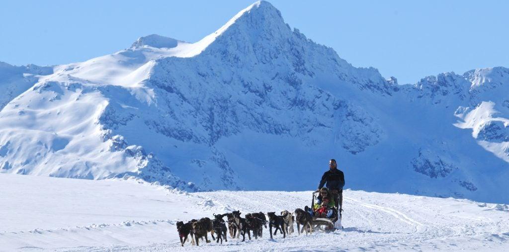 Aternativas originales al esquí - Pirineos de Cataluña. Mushing