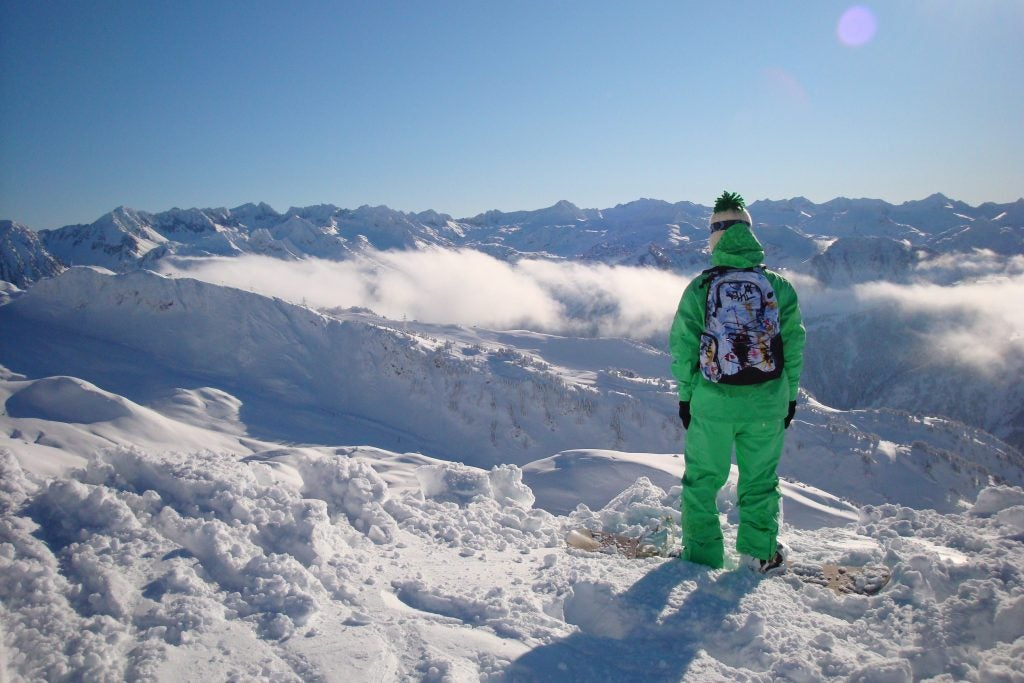 Aternativas originales al esquí - Pirineos de Cataluña. Snowboard
