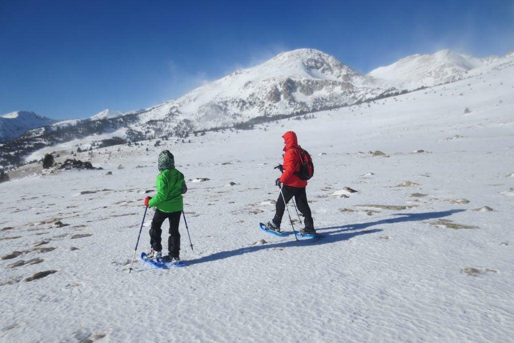 Aternativas originales al esquí - Pirineos de Cataluña- Raquetas de nieve