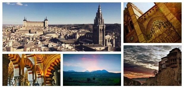 ciudades patrimonio de la humanidad ES Collage