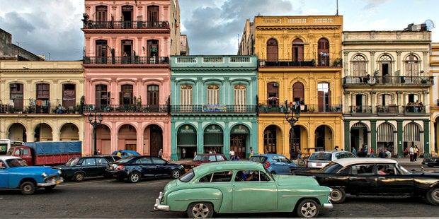 edificios en La Habana Cuba