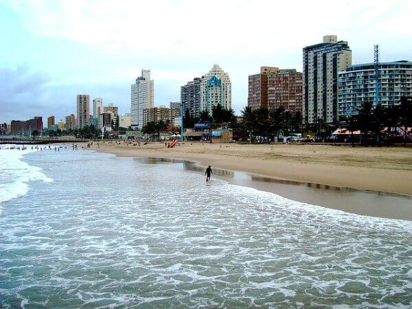 playa de durban sudafrica