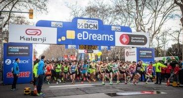Haz RT y consigue 10 inscripciones para la eDreams Mitja Marató y un pack de vuelo + hotel