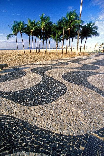 lungo mare spiaggia rio de janeiro