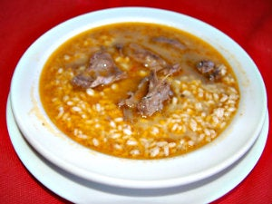 Arroz con pato isla mayor