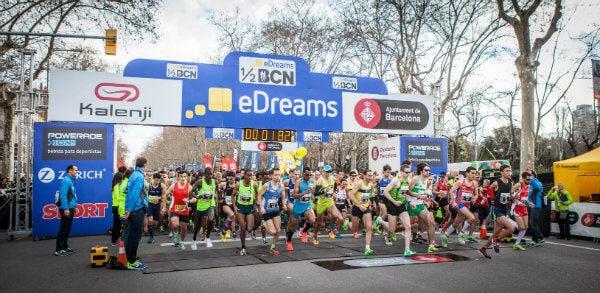 Récords mundiales en la 25º edición de la eDreams Mitja Marató