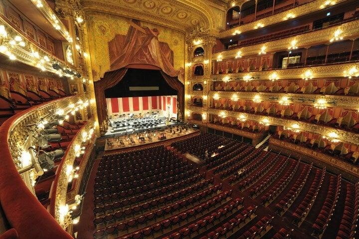 Interior del Teatro Colón de Buenos Aires, entre las mejores 5 Casas de Ópera del Mundo