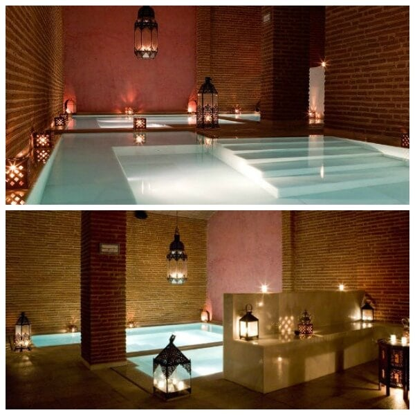 collage de los baños arabes de almeria