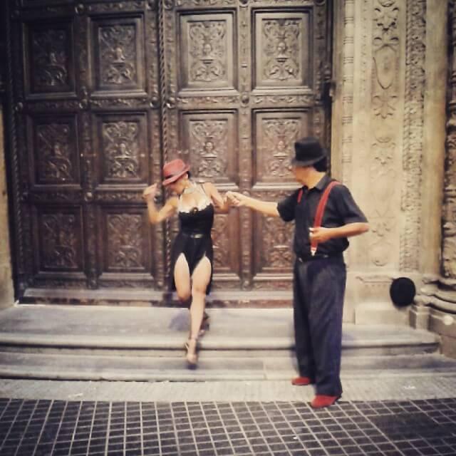 calle florida tango