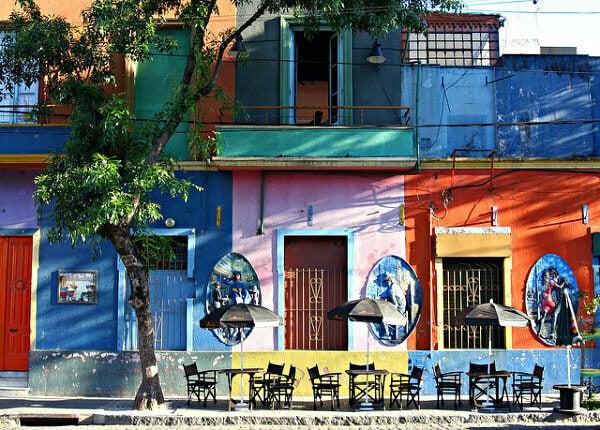 caminito a Buenos Aires